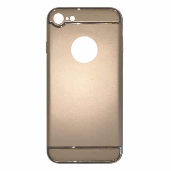 Apple hoesjes Fit Fashion – Hardcase Hoesje –  Geschikt voor iPhone 7 – Goud