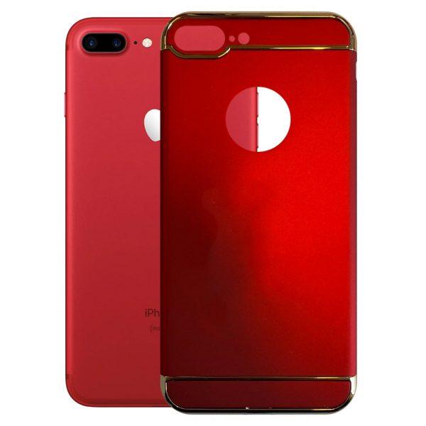 Apple hoesjes Fit Fashion – Hardcase Hoesje –  Geschikt voor iPhone 7 Plus – Rood