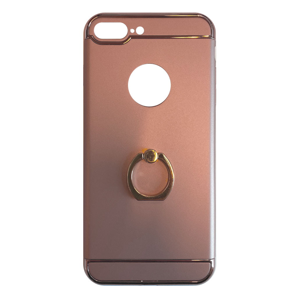 Apple hoesjes Fit Fashion – Hardcase Hoesje –  Geschikt voor iPhone 5/5S/5SE – Zilver
