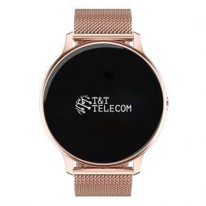 Smartwatch Smartwatch – Khocell – Roze – met stalen band