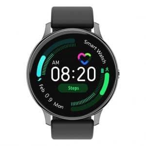 Smartwatch Smartwatch – Khocell – Zwart – met Siliconen band