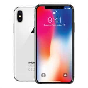 Apple Telefoons Refurbished iPhone X – Mobiele telefoon – 256GB – Wit – A-B Grade