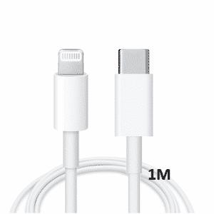 Kabels Datakabel – Apple Lightning naar USB-C – 1 meter – Wit