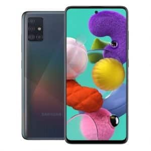 Samsung Phones Samsung – Galaxy – A51 – Mobile phone – Dual Sim – 128GB – Prism Crush Black