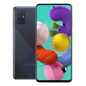 Samsung Phones Samsung – Galaxy – A71 – Mobile phone – Dual Sim – 128GB – Prism Crush Black