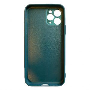 Apple cases Khocell – Siliconen/Hardcase hoesje voor Apple iPhone 11 Pro Max – Groen