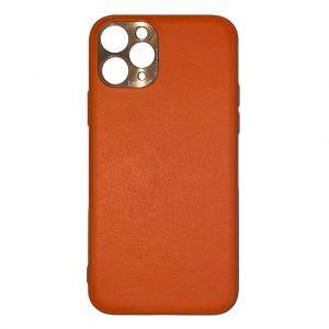 Apple cases Khocell – Siliconen/Hardcase hoesje voor Apple iPhone 11 Pro Max – Oranje