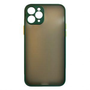 Apple cases My Choice – Siliconen/Hardcase hoesje voor Apple iPhone 11 Pro – Groen