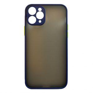 Apple cases My Choice – Siliconen/Hardcase hoesje voor Apple iPhone 11 Pro – Navy