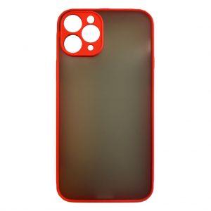 Apple cases My Choice – Siliconen/Hardcase hoesje voor Apple iPhone 11 Pro – Oranje