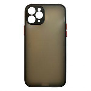 Apple cases My Choice – Siliconen/Hardcase hoesje voor Apple iPhone 11 Pro – Zwart