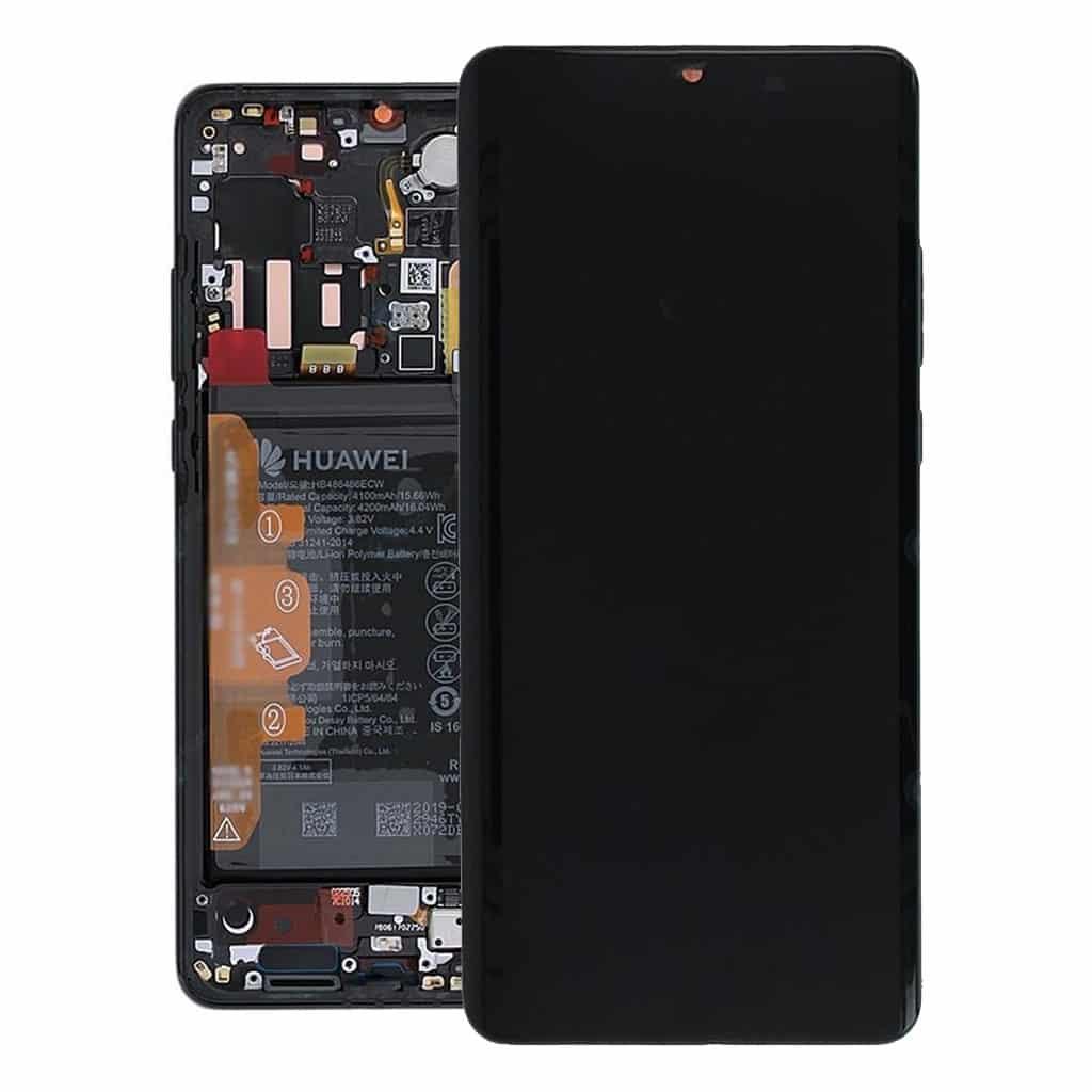 P30 Pro Achterkant met camera lens voor Huawei P30 Pro – Zwart