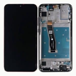P Smart 2019 LCD / Scherm met frame voor Huawei P Smart 2019 – Zwart