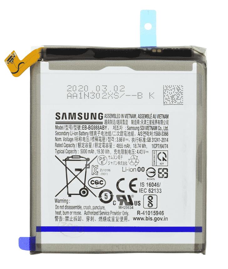 S20 Ultra Camera achterkant voor Samsung Galaxy S20 Ultra