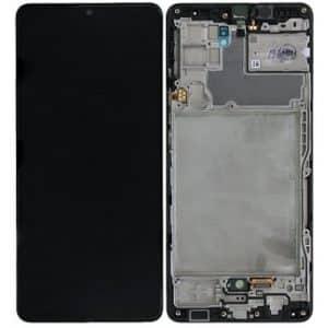 A42 LCD / Scherm voor Samsung Galaxy A42 5G – Origineel – Service pack – Zwart
