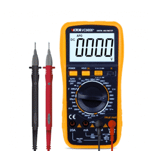 Battery Testing & Power Supply 1pcs VICTOR 9806+ LCD 4 1/2 Digital Multimeter VC9806+ Backlight VC9806+