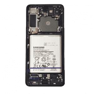 S21 Plus LCD / Scherm met frame voor Samsung Galaxy S21 Plus – Origineel – Service pack – Zwart