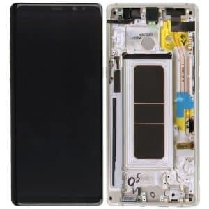 Note 8 LCD / Scherm voor Samsung Galaxy Note 8 – Origineel – Service pack – Goud
