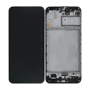 M21 LCD / Scherm voor Samsung Galaxy M21 – Origineel – Service pack – Zwart